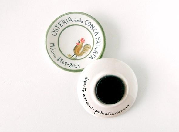 Decorazione su ceramica Pobiati e Curcio 03
