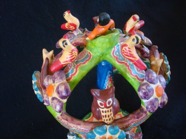 Mexican Vintage Folk Art And Pottery