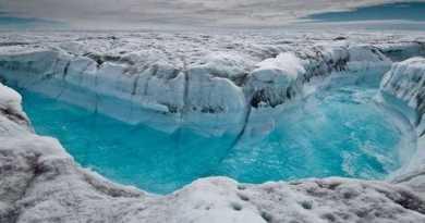 Velké tání ledu v Grónsku a na Antarktidě