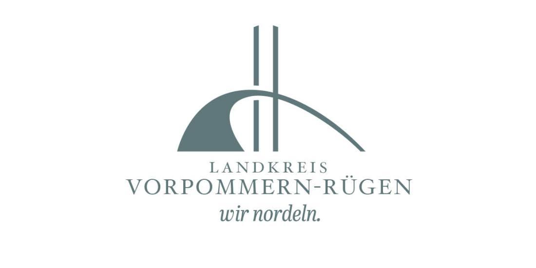 wir nordeln - Logo Design und Claim für den Landkreis Vorpommern-Rügen