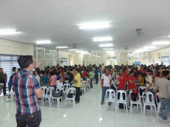 The VoiceMaster at Voice Care for Teachers Workshop in Zamboanga