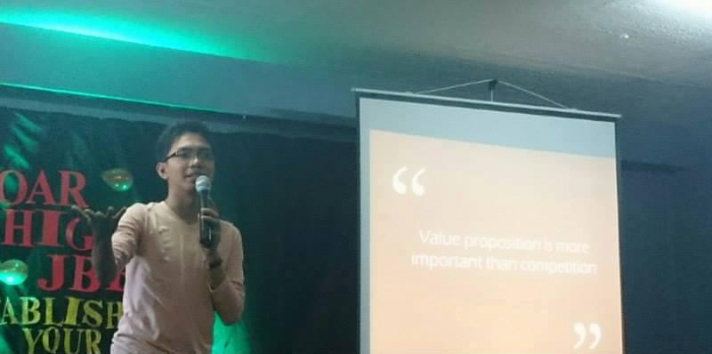 Venchito Tampon Speaks at JBEA Seminar