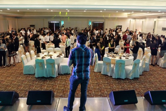 The VoiceMaster Talks about the Future Me to Tourism and Hospitality Management Students of DLSU Dasmarinas