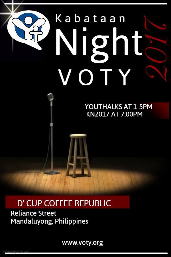VOTY Kabataan Night 2017