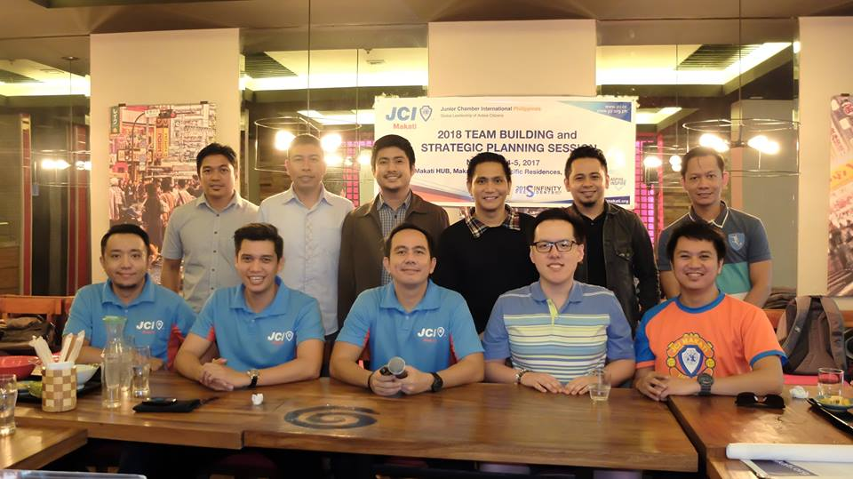 JCI Makati BOD and members