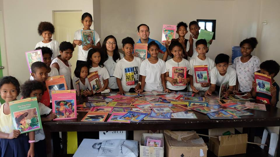 Storybooks donated by Lampara Books