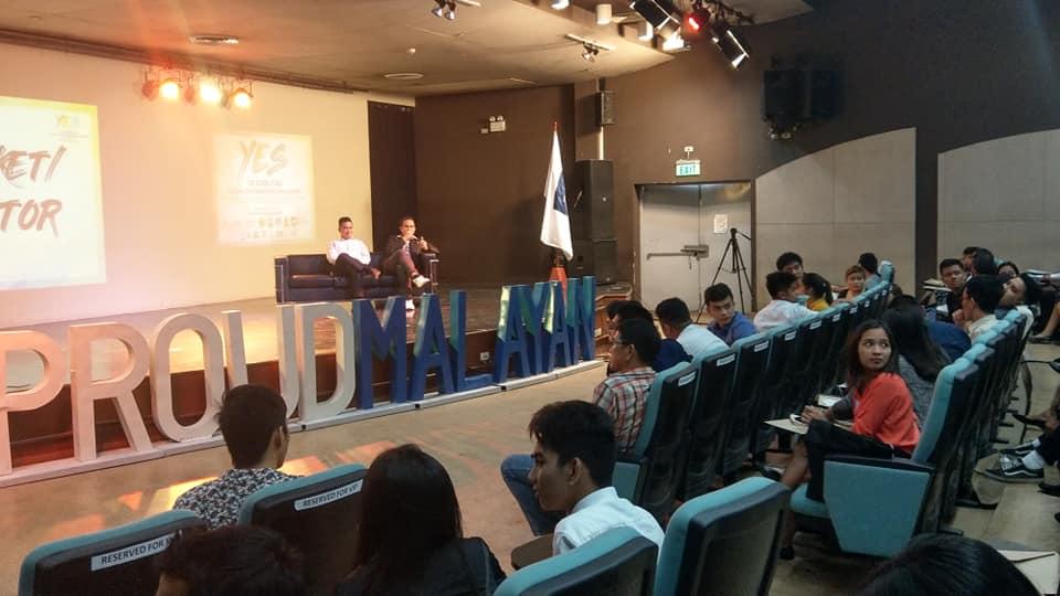 Open forum with fellow speaker and entrepreneur Rommel Gerodias