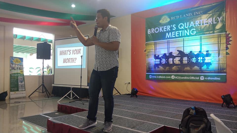 Andrew San Fernando shares secrets to success