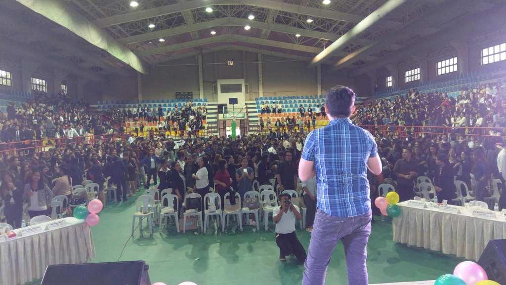 The VoiceMaster inspires Business Students of Calbayog Samar