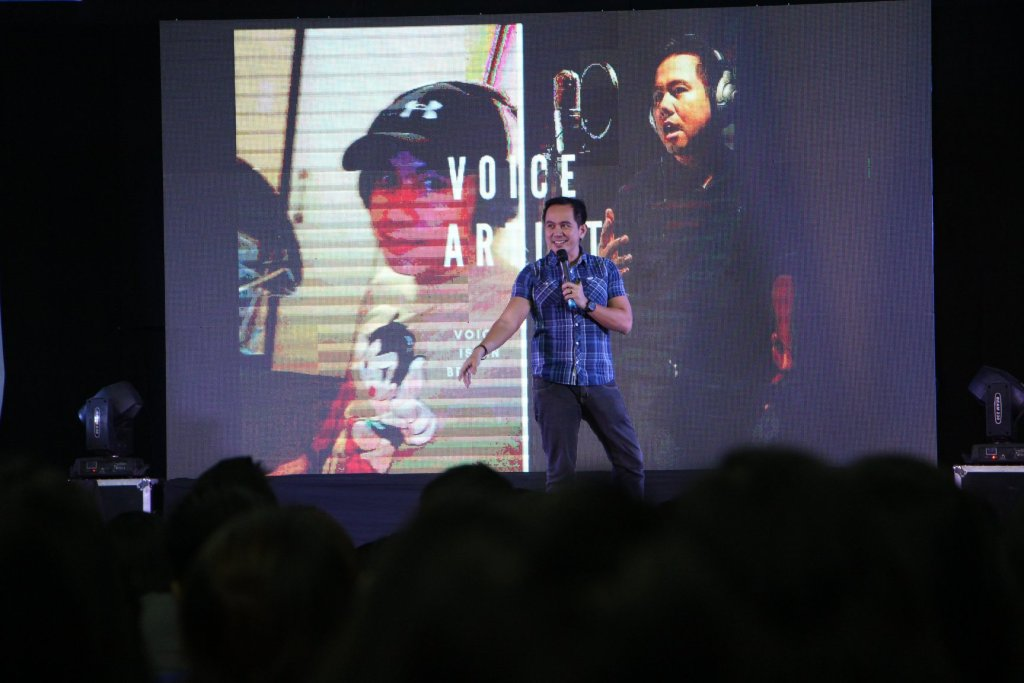 The VoiceMaster shares his entrepreneurial journey as a voice artist