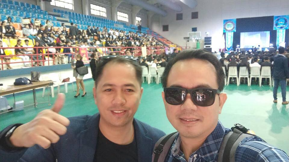 with fellow Filipino motivational speaker and good friend Al Ian Barcelona
