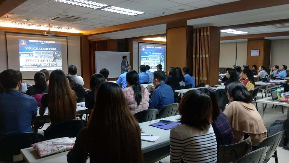 The VoiceMaster teaches VOICE Leadership to Freeport Area of Bataan locators