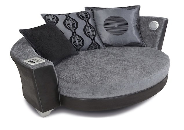 DFS sofa with builtin iPod and MP3 dock  Pocketlint