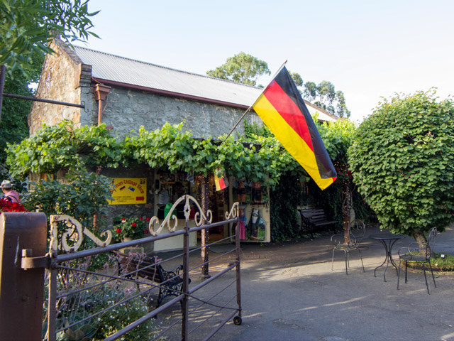 Welcome to Hahndorf. Photo credit: Ian Lee