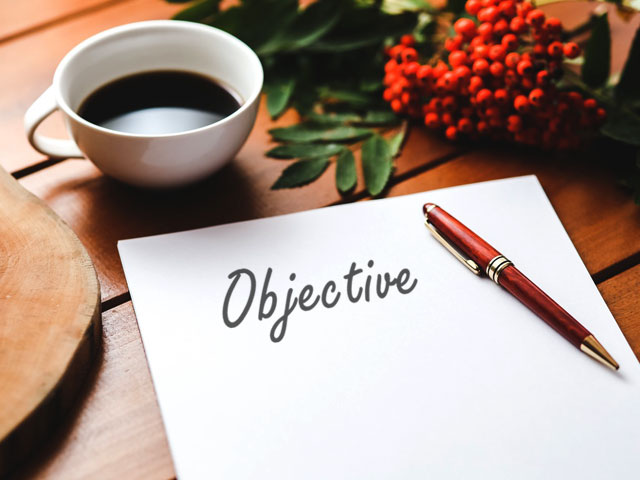 Define your objective