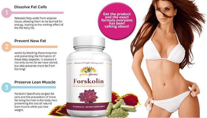 Golden Farms Forskolin side effects