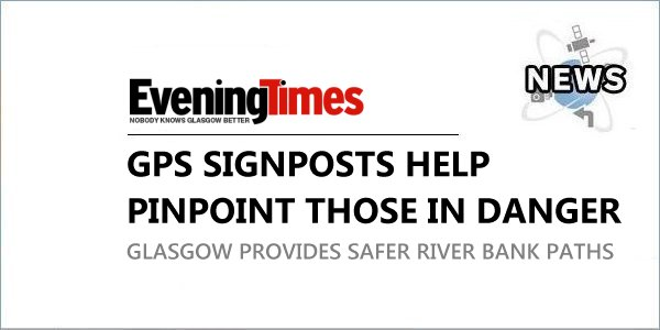 GPS Points Protect Glasgow Riverbank Walkers