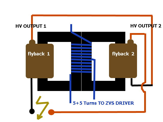 Posted A Question About A Flyback Transformer Schematic I Was Having