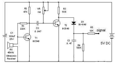 Detecting an ultrasonic beacon