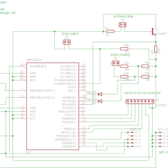 Simple Relay Circuit Diagram Wiring Three Way Switch Coil Winding Machine Counter With Atmega8 And Reed – Pocketmagic