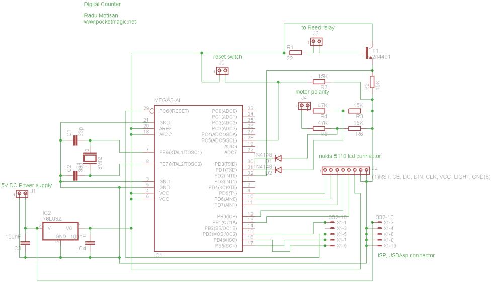 medium resolution of digital counter reed switch circuit diagram