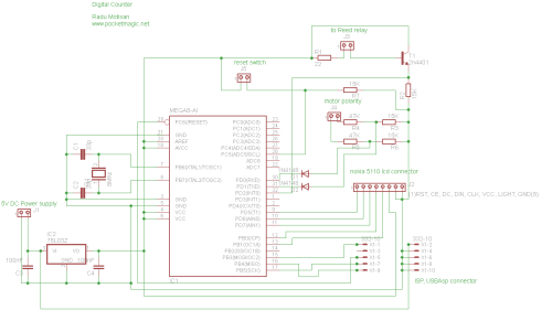 small resolution of digital counter reed switch circuit diagram