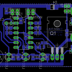 Electric Fence Circuit Diagram Diy Chevrolet 350 Engine For Perimeter Protection Pocketmagic The Miniaturized Pcb Sch