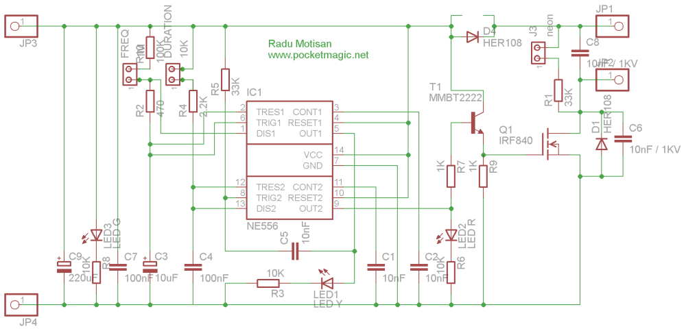 medium resolution of the circuit diagram miniaturized electric fence circuit pcb miniaturized electric fence circuit sch