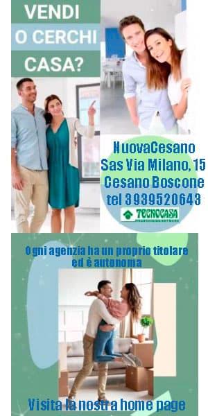 tecnocasa Cesano Boscone half page Pocketnews