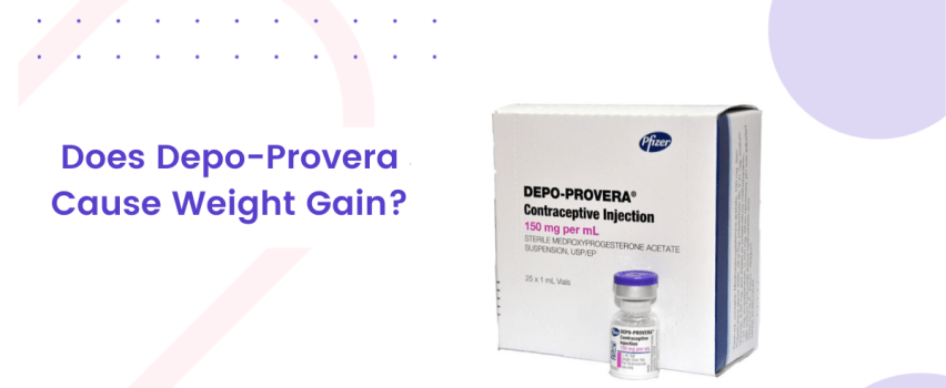 depo provera weight gain