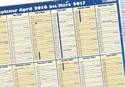 PocketPlaner als Kalender