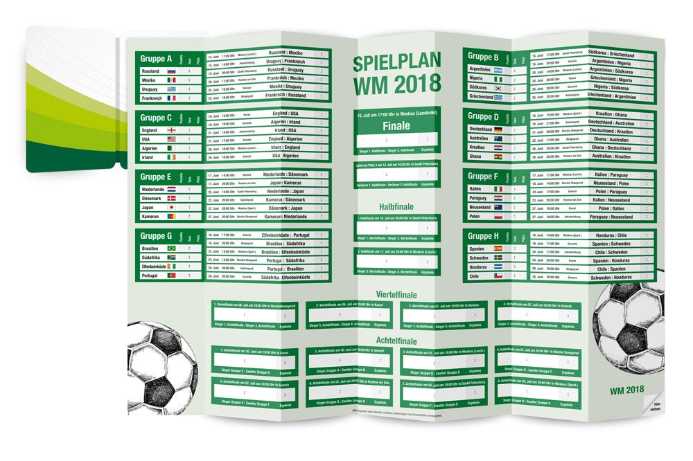 PocketPlaner für die WM 2018