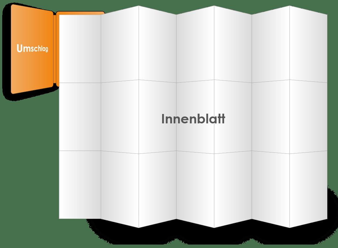 PocketPlaner mit geöffnetem Innenblatt