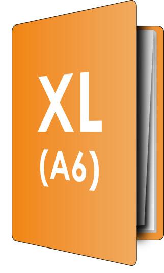 PocketPlaner-XL (DIN A6) stehend