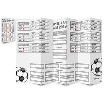 PocketPlaner als Spielplan für die Fussball-Weltmeisterschaft 2019