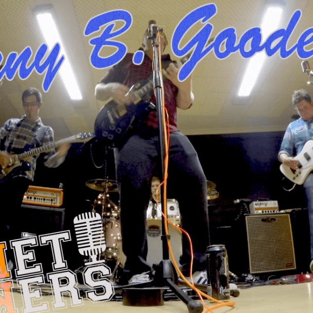 Thumbnail for the music video Johnny B. Goode performed by The Pocket Rockers