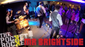 Thumbnail for the live music video Mr Brightside performed by Hampshire Wedding Band The Pocket Rockers