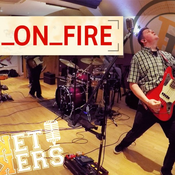 Thumbnail for the music video Sex On Fire performed by The Pocket Rockers