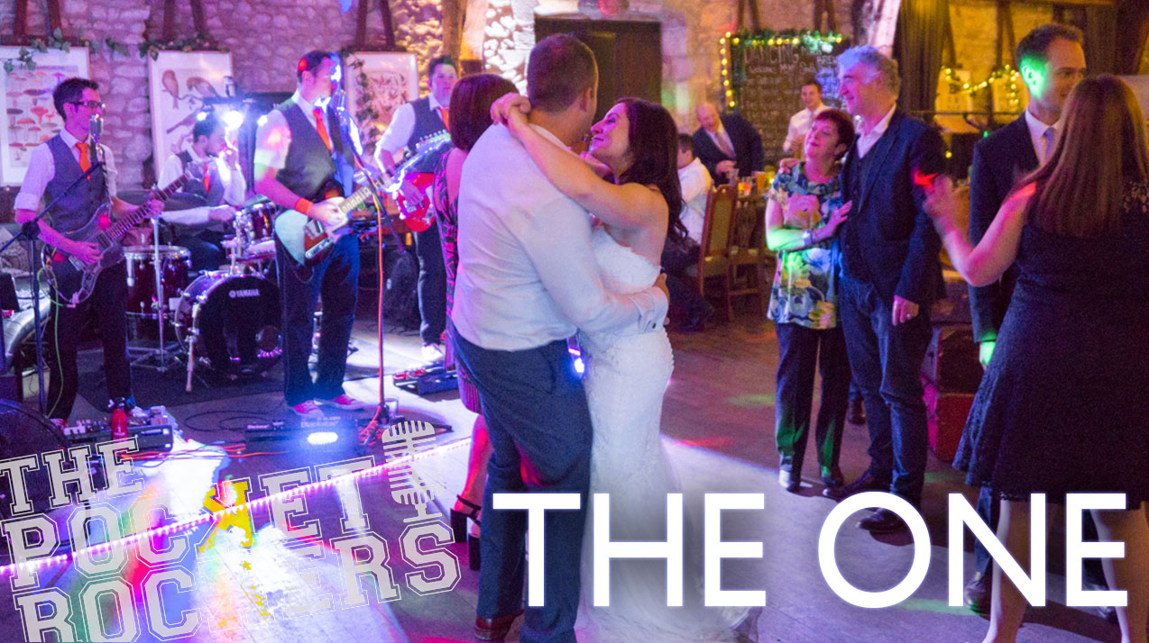 Thumbnail for the live music video The One performed by Hampshire Wedding Band The Pocket Rockers