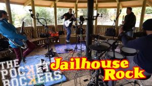 Thumbnail for the music video Jailhouse Rock performed by The Pocket Rockers