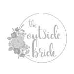 Logo for The Outside Bride - a Wedding Supplier that The Pocket Rockers are listed with.