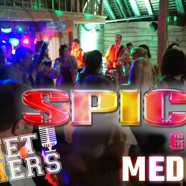 Thumbnail for the music video Spice Girls Medley performed by The Pocket Rockers