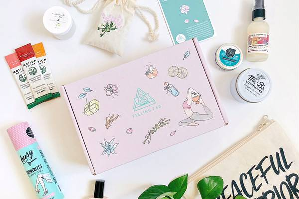 Feeling Fab Health & Wellness Monthly Subscription Box