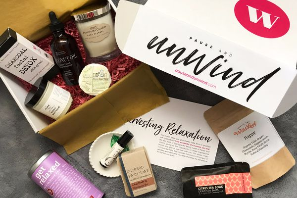 Pause & Unwind Monthly Subscription Box