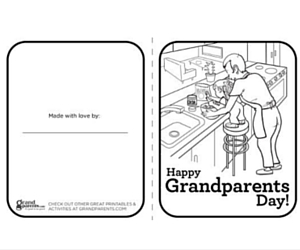 Freebies: Free Grandparents Day Printables, Storytime + More