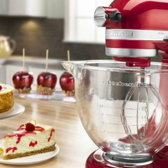 Macys Kitchen Aid Cabinet Colors For Small Kitchens Macy S Kitchenaid 5 Quart Stand Mixer W Glass Bowl Only 184 99 Don T Miss This Deal