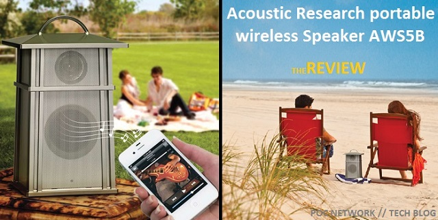 Review: Acoustic Research portable wireless Speaker AWS5B3