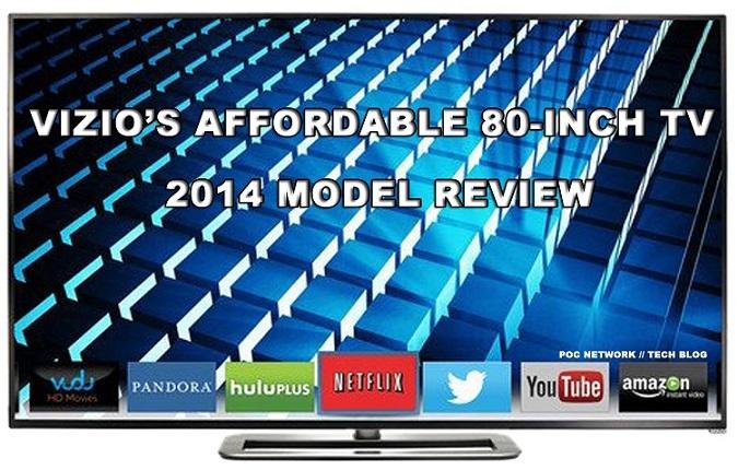 vizio tv 80 inch 4k. review: vizio m801i-a3 80-inch m-series led smart hdtv ( vizio tv 80 inch 4k u