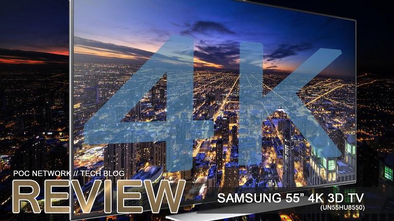 samsung 55 4k. review: samsung 55-inch 4k 3d 120hz smart uhd-tv (un55hu8550) 55 4k