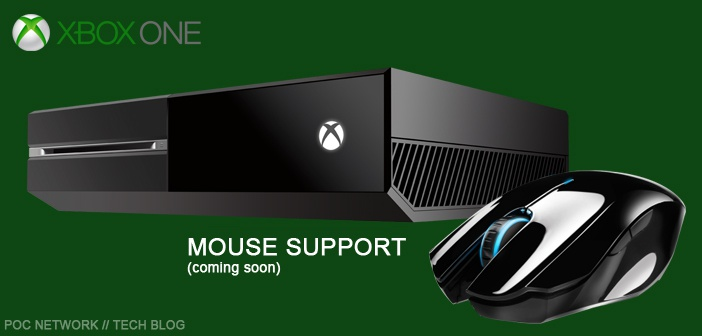 Microsoft adding mouse support to Xbox One | Poc Network ...